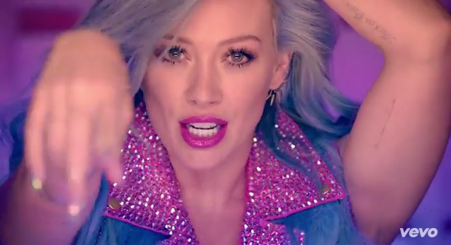 Hilary-Duff-Sparks-Music-Video