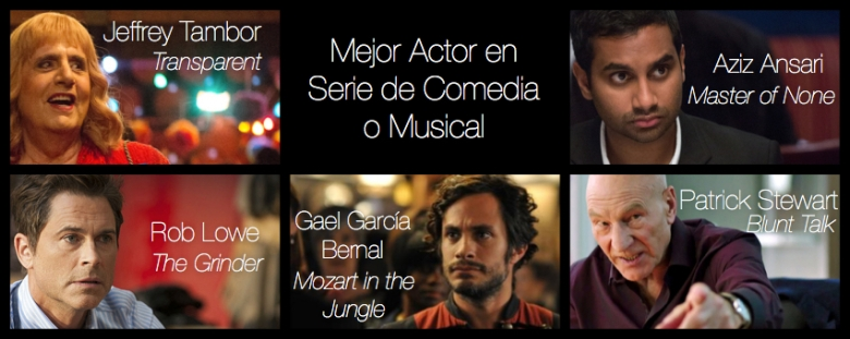 Mejor Actor de serie de comedia o musical