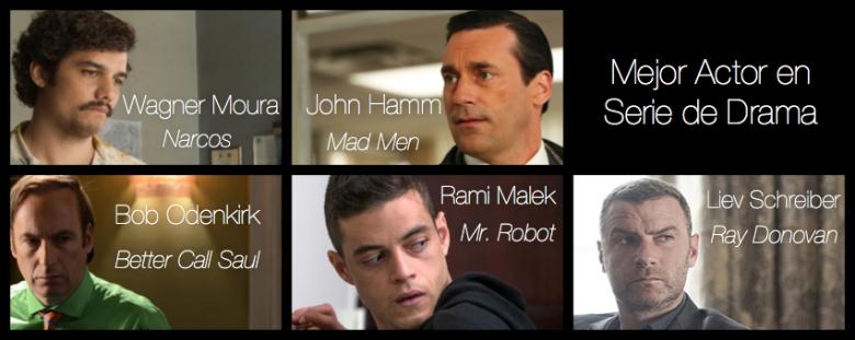 mejor actor en serie de drama